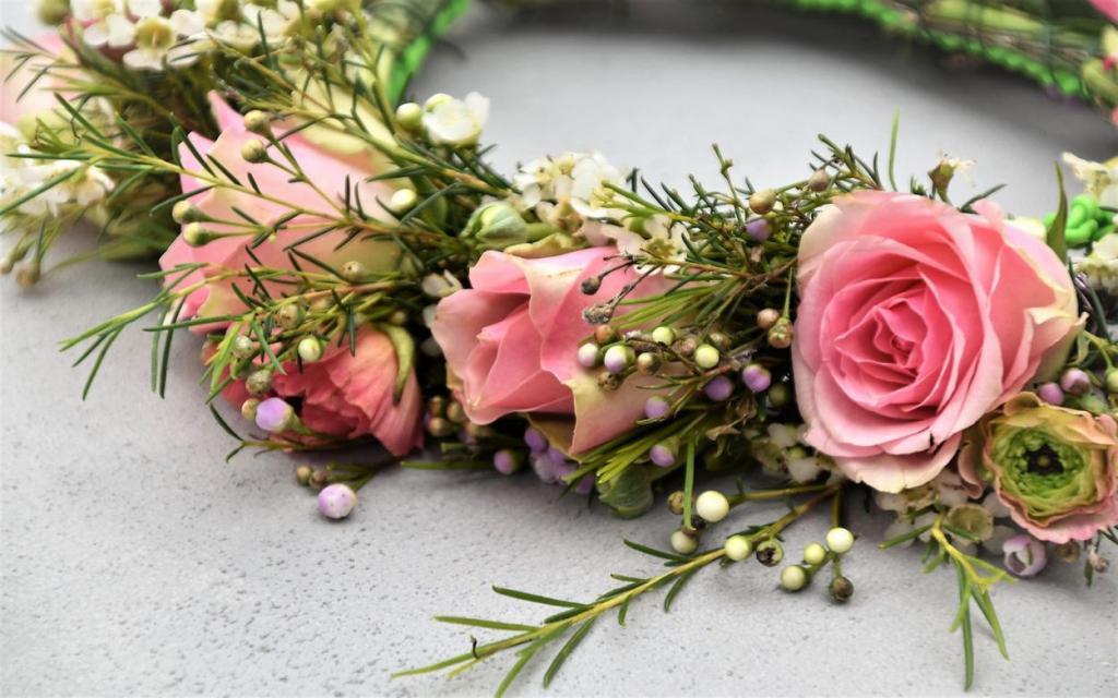 Blumenkranz, Blumenliebe, verliebt, Frühling, Freude, Feierlaune, Geschenkideen