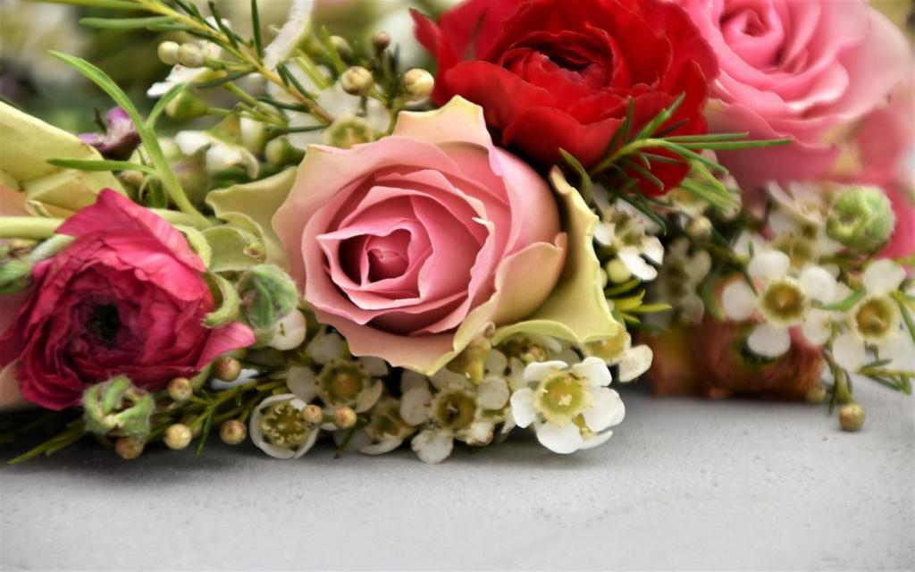 Blumenkranz, Blumenliebe, Frühling, Lieblingsjahreszeit, verliebt, Frühling, Rosen, Wachsblumen