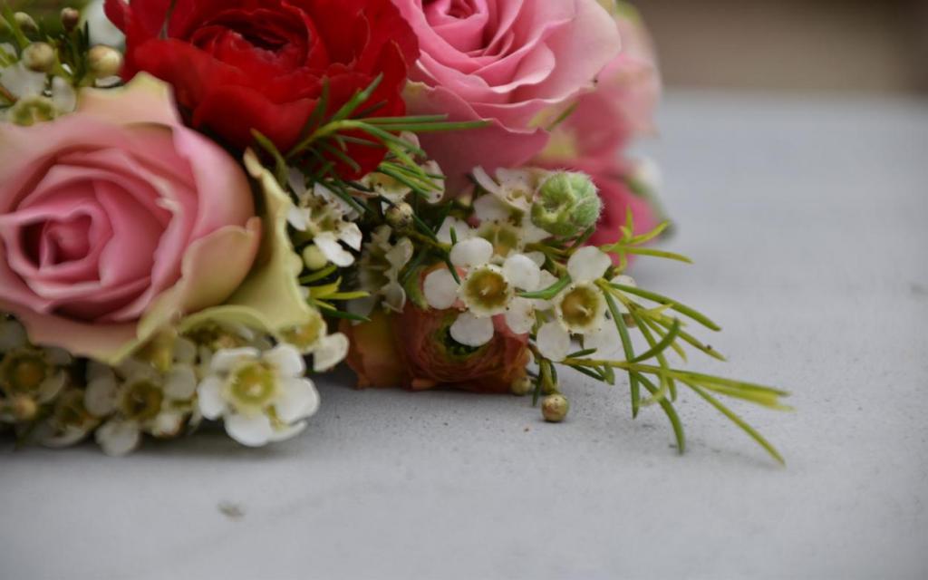 Detail Blumenkranz, verliebt, Blumenliebe, Frühling, Freude