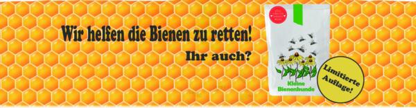 Wunderle, Bienen retten, Kleine Bienenkunde, limitierte Auflage, mit den kleinen Dingen beginnen, Sommer, Frühling, sich einsetzen, gefertigt in Werkstätten für behinderte Menschen
