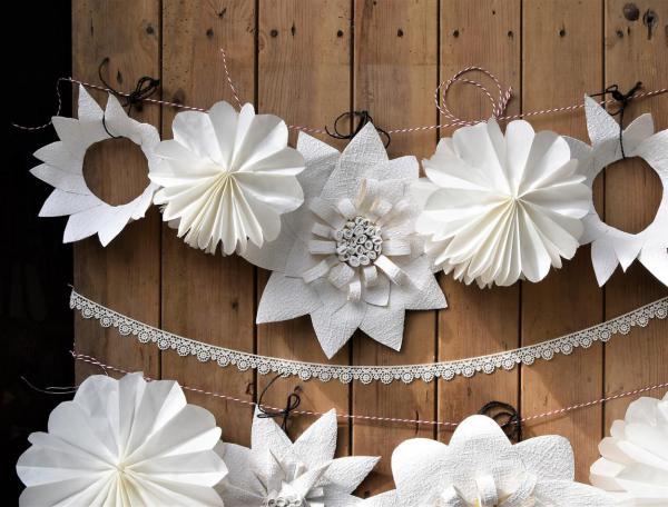 DIY, gesehen und für nachahmenswert befunden, aus der Living at Home, Feierlaune, Partydelo, Gartenzeit, Gartenparty, Hochzeit, Dekoration, Blumenliebe, selbstgemacht