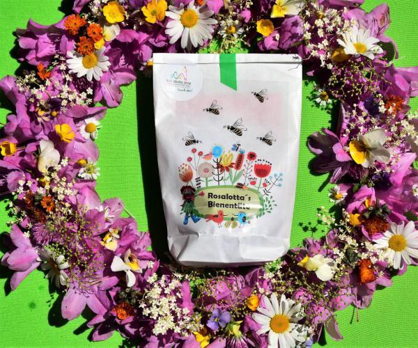 Rosalottas Bienentüte, Landesgartenschau Bad Iburg 2018, Ausflugsziel, Draussenzeit, Sommer, Blütenkranz, Bienenrettung, Blütenpracht, Gartenlust, für Gartenfreunde