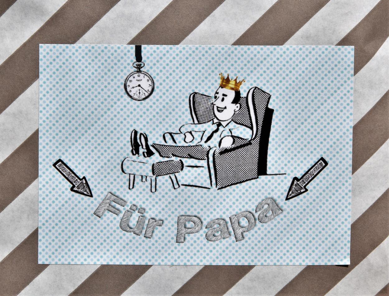 Wunderle, Für Papa Wundertüte, Best Dad, Vatertag, Papa ist der Beste, Held, Geschenkideen, gefertigt in Werkstätten für behinderte Menschen, Kleinigkeit, Mitbringsel