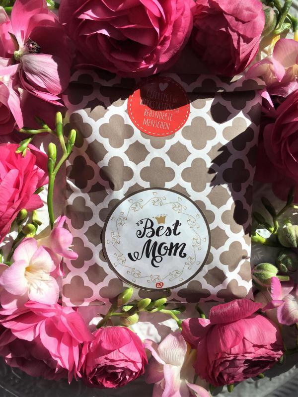 Muttertag, Muttertagsgeschenke, Wunderle, Best Mom Wundertüte, gefertigt in Werkstätten für behinderte Menschen, Geschenke mit emotionalem Mehrwert, kleine Wunder