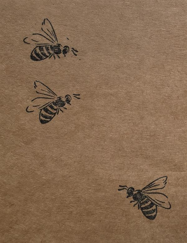 Wunderle Bienenstempel, Bienenrettung, Herzensangelegenheit, Naturschutz, im Kleinen beginnen, Lebensraum verbessern, Fleißige Bienchen unterstützen, Detail, mitmachen