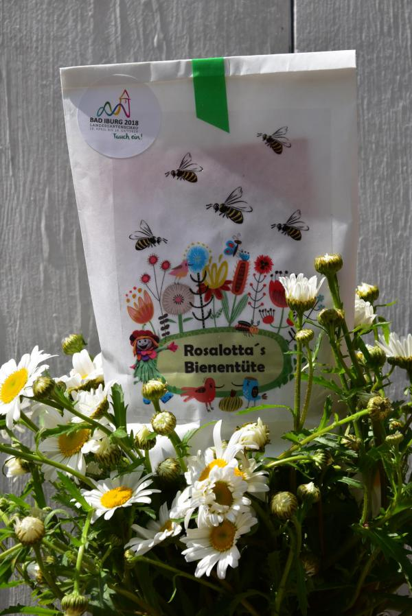 Landesgartenschau Bad Iburg, Rosalottas Bienentüte, massgeschneidert, Geschenkideen, Blumenliebe, Gartenglück, Sommer, Ausflug, Pfingsten