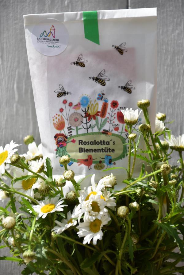 Rosalottas Bienentüte, Landesgartenschau Bad Iburg 2018, Bienenrettung, Gartenfreund, Blumenliebe, Mai, Sommer, Ausflugsziel