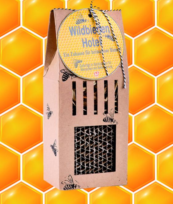 Wunderle Wildbienenhotel, Bienenrettung, Bienenfreund, Naturschutz, im Kleinen anfangen, Herzensangelegenheit, Summ,summ, summ..., Lebensraum verbessern