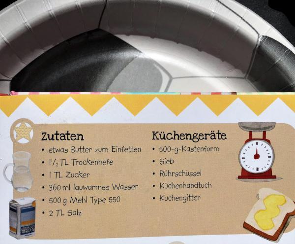 Brotrezept, Kinderkochbuch Koch mal, lecker, Lieblingsrezept, Fußball, schnell und einfach, gelingt immer