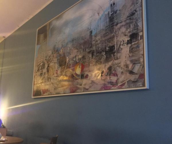 Cafe Herr Sonnenschein, Münster, Bild, Seitenwand