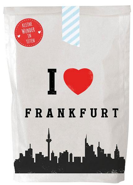I love Frankfurt, Wunderle Städtetüte, Wundertüte, Geschenkideen, Lieblingsstadt, Reisen, Citytrip, liebevolle Kleinigkeit