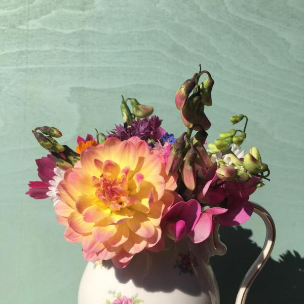 Gartenstrauß, Blumen, Sommerglück, Geschenk, bunt und fröhlich