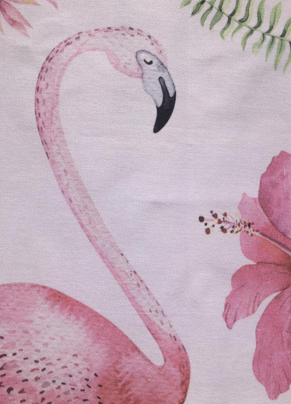 Wunderle, Geschirrhandtuch, Trockentuch, Flamingo, praktisches Werbegeschenk
