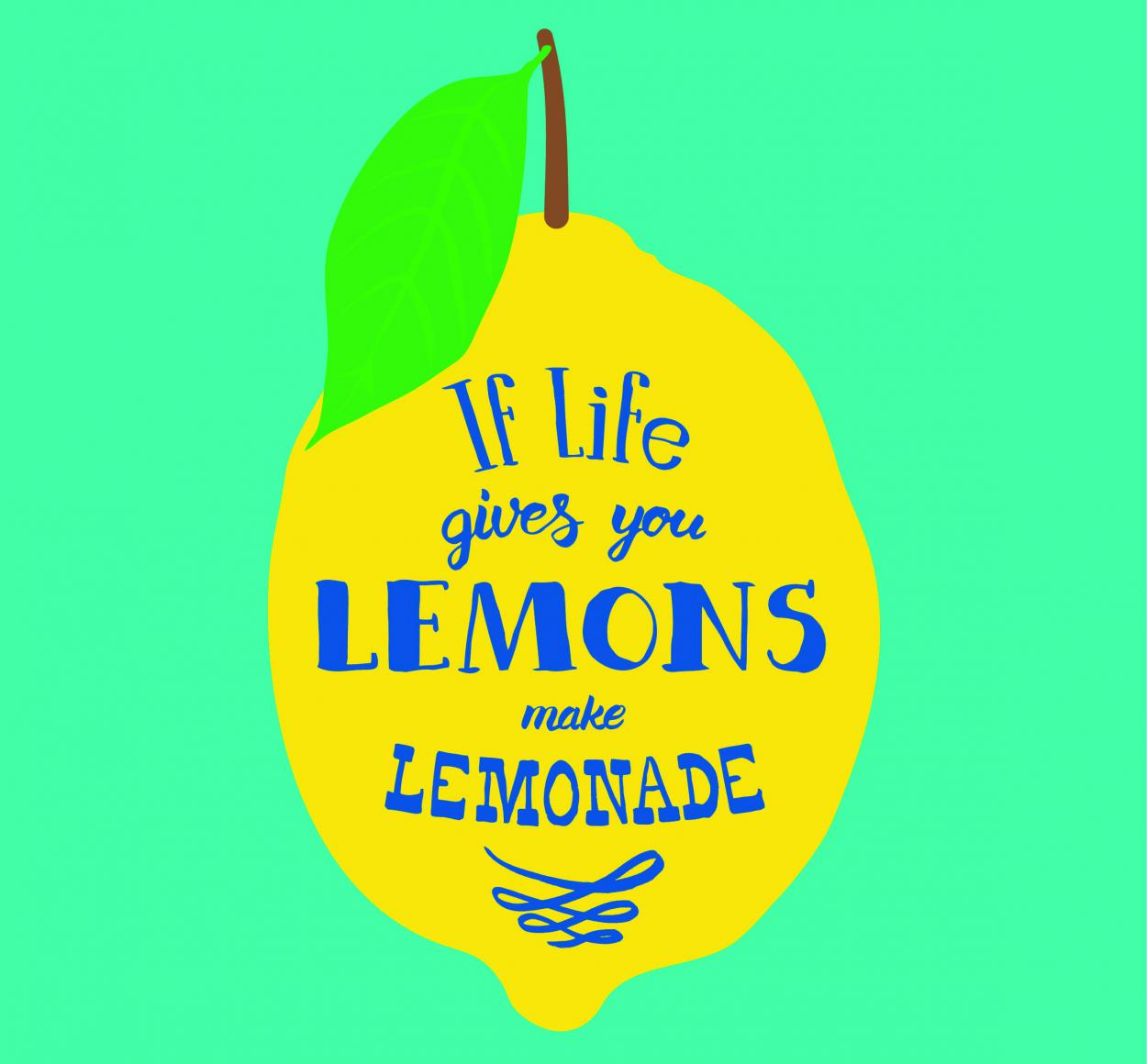 Free Printable. Freebie, Zitronenlimonade, Lettering, For Free, Sommerglück