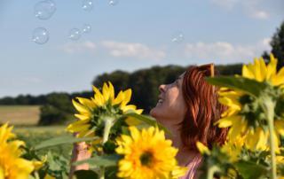 It´s me, Selfie, Sonnenblumen, Seifenblasen, Sommerglück, Blumenliebe, die kleinen Dinge