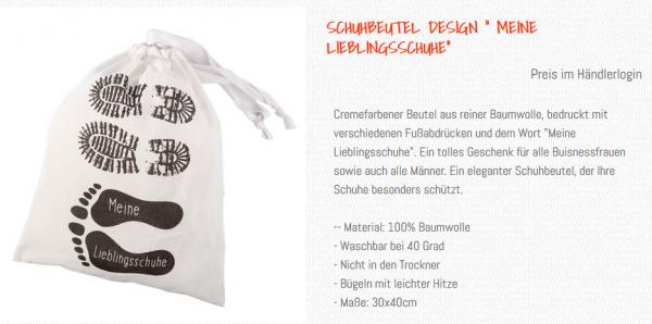 Wunderle Text Meine Lieblingsschuhe Online Shop, Details, genaue Beschreibung, Maße und Material