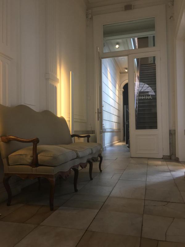 Antwerpen, Hotel Julien, Eingangsbereich, einladend