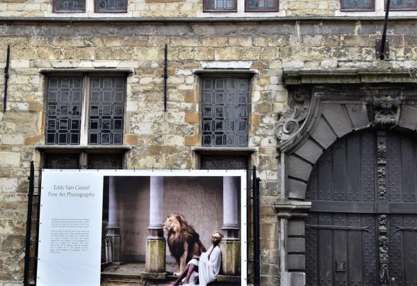 Antwerpen, Haus, Plakat