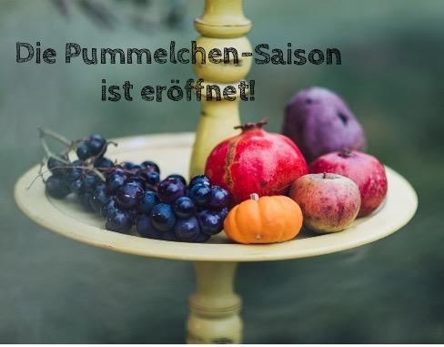 Herbst, lecker, reife Früchte, Pummelchen-Saison, Herbstküche
