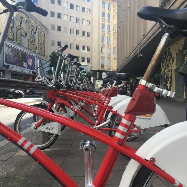 Fahrrad, Velo, Stadt entdecken, Leihfahrrad