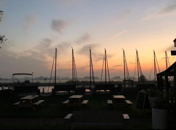 Segelboote, Sonnenuntergang, Abendstimmung, Tagesende