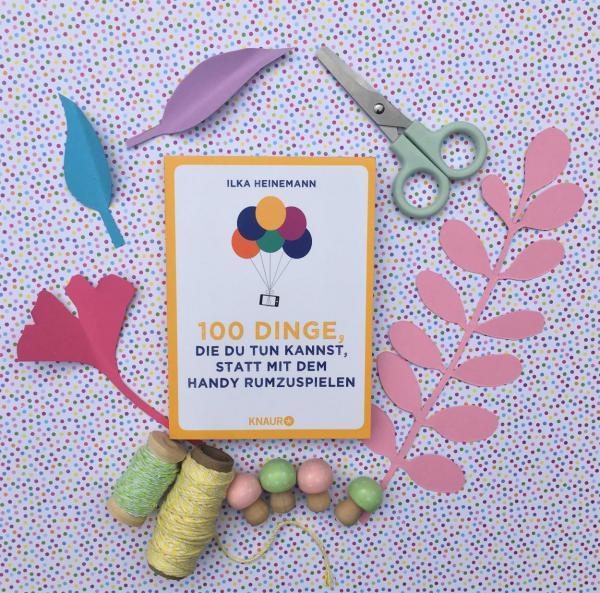 Herbst, Blätter, Buch, 100 Dinge..., DIY, Kreativzeit