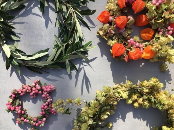 Herbst, DIY, selbstgemacht, Kränzeleien