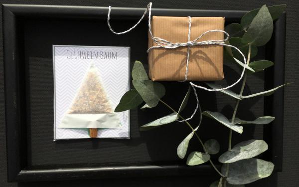 Geschenk, Glühweinbaum, Eukalyptus, lecker, cosy, Gemütlichkeit zelebrieren