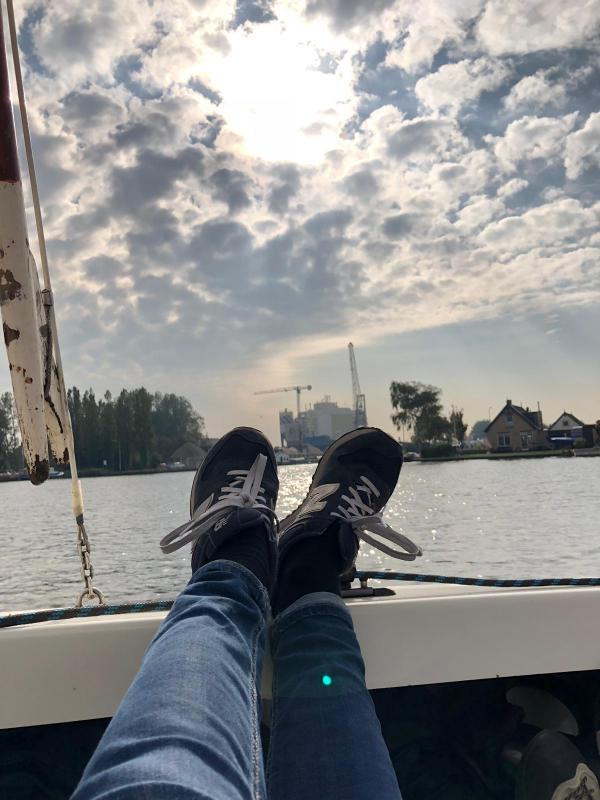 Füße, Segeln, Auszeit, Holland, Segelausfug