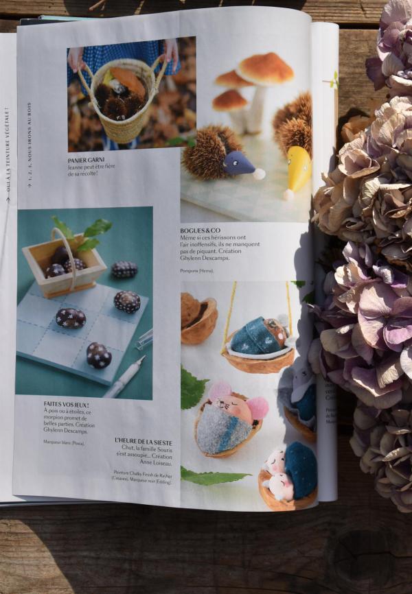 Marie Claire, Zeitschrift, Inspiration, Herbstdeko, DIY, kuschelig