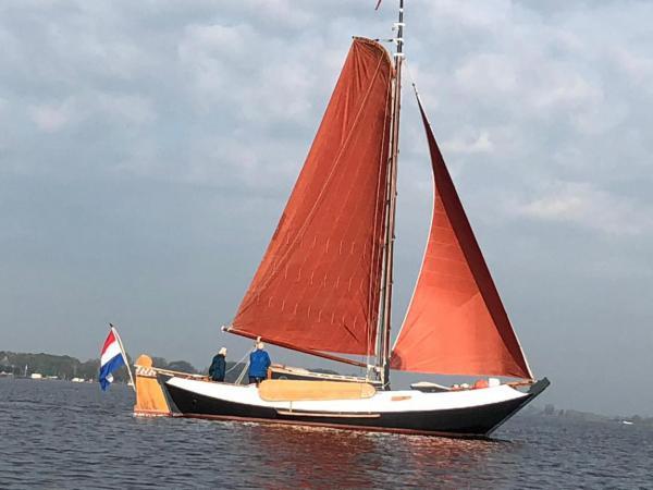 Segelboot, Segelausflug, Holland