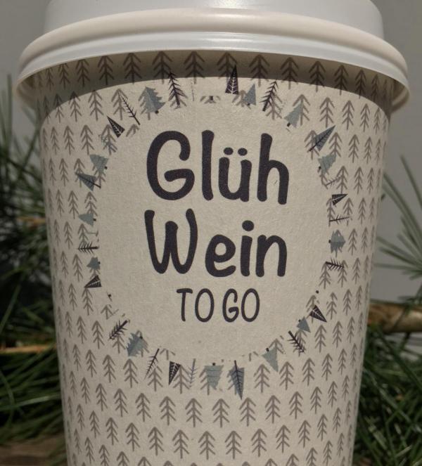 Glühwein, To Go, Lecker, Advent, Weihnachtsstimmung, herzerwärmend, Weihnachten