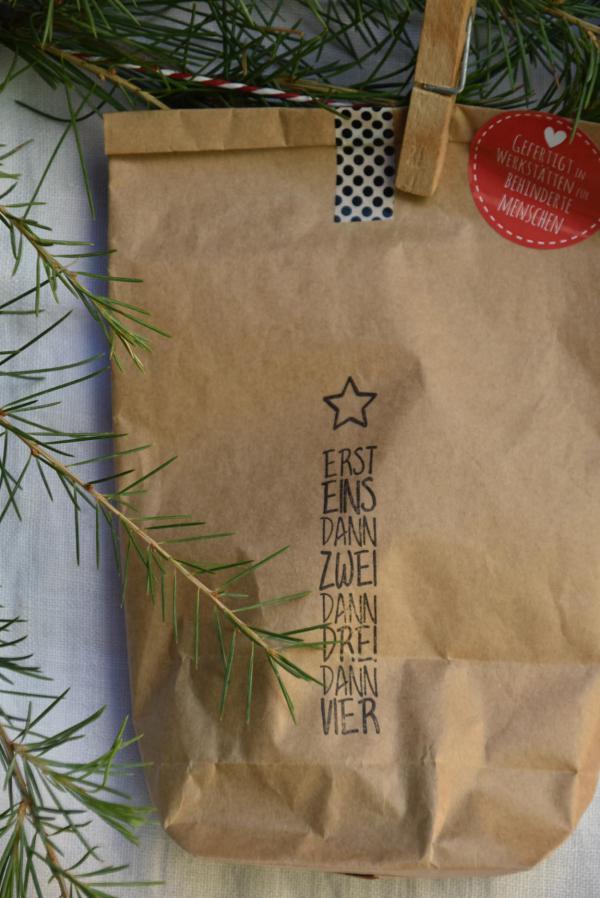 Wundertüte, Erst eins dann zwei, Weihnachten, Advent, Kleinigkeit, Mitbringsel, Überraschung