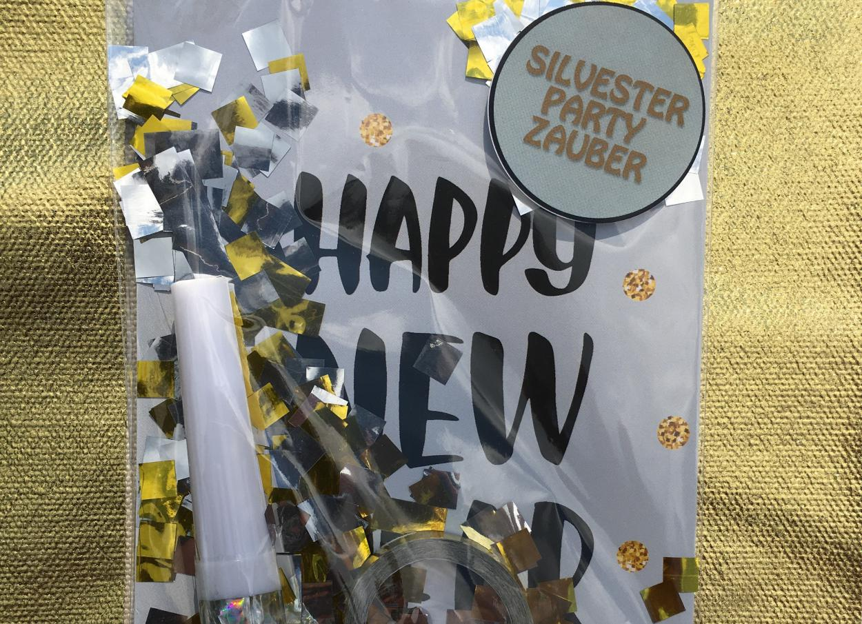 Wunderle, Happy New Year, Silvesterpartyzauber, 2019, Party Kit