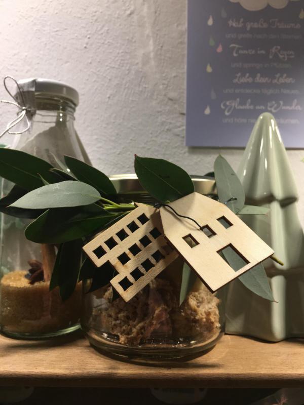 Plätzchenglas, in der Weihnachtsbäckerei, lecker, backen ist Liebe, Weihnachten, Advent, die kleinen Gesten
