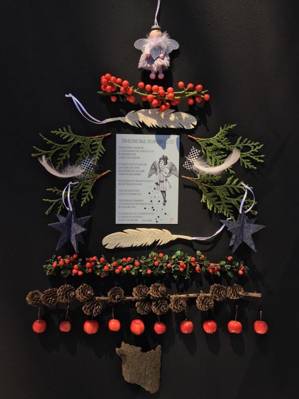 Schutzengel, Details, beschützt,Tannenbaum, Weihnachten, Wundertüte