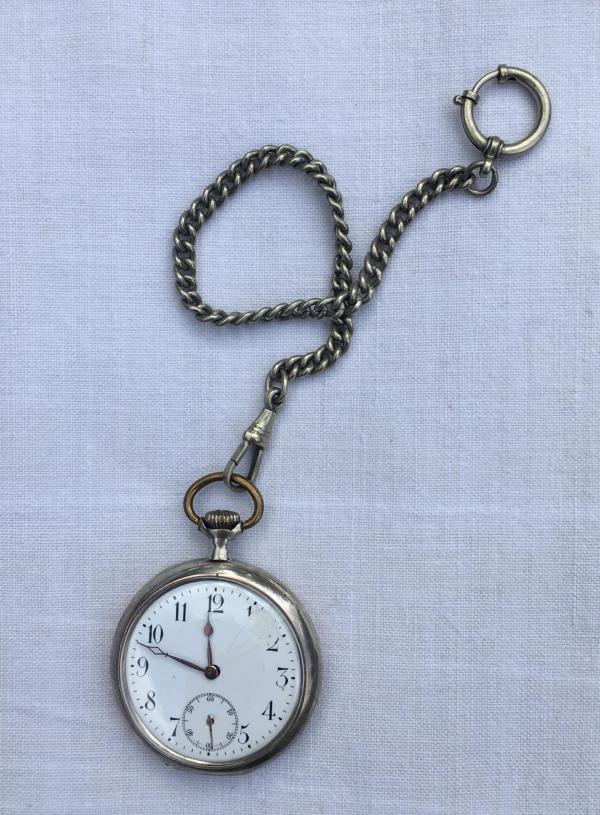 Taschenuhr, Uhr, 12 vor 12, Silvester, Jahreswechsel, Party