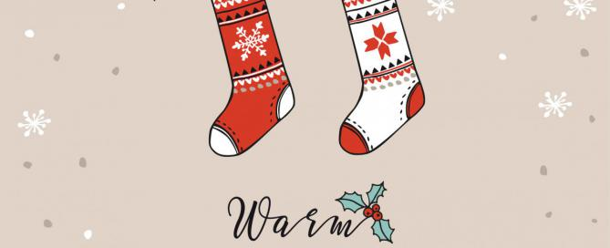 Warm Wishes, Weihnachten, Sockenleine, Liebe, Das Fest der Liebe, Kleinigkeit, Mitbringsel, Wunderle, gefertigt in Werkstätten für behinderte Menschen