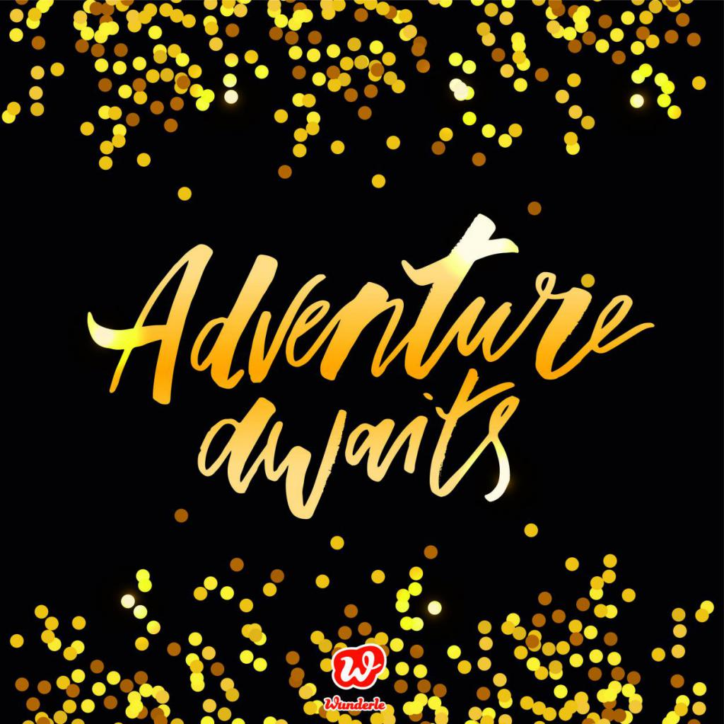 Lettering, Free printable, Freebie, Adventure awaits, Silvester, Neubeginn
