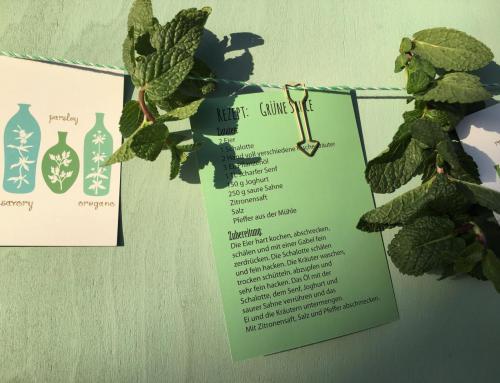 Go for Green – Kräuterliebe, Grünzeug ist immer die passende Zutat!