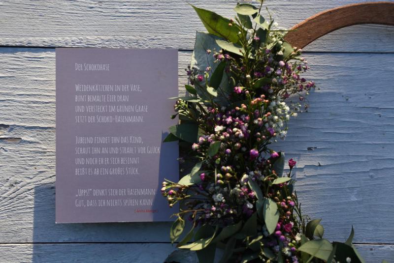 Wunderle, Postkarte, Schmetterling, detailverliebt, Frühling, Ostern