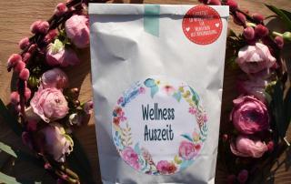 Wunderle, Wellness Auszeit, Wunderlewundertüte, gefertigt in Werkstätten für behinderte Menschen, Geschenkideen, Frühling