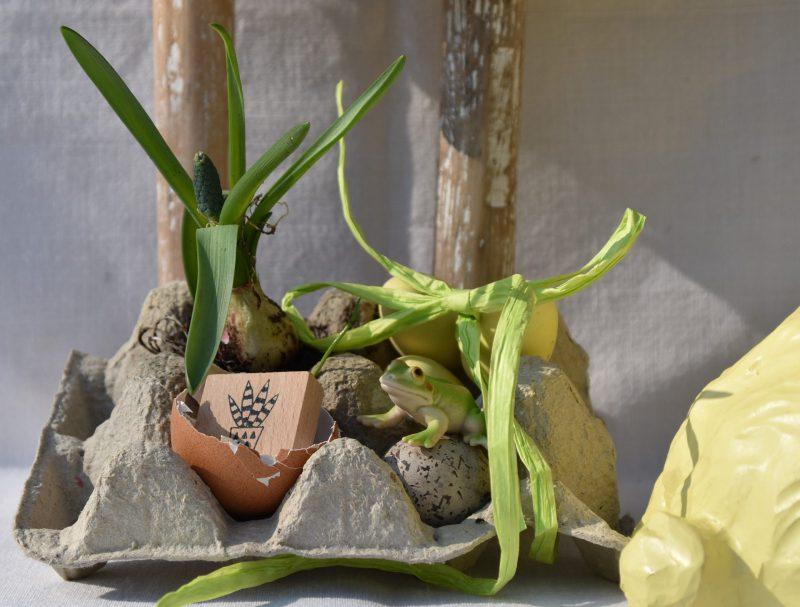 Ostern, Frühling, Eierpappe, DIY Geschenkverpackung, Ostergeschenke, Kleinigkeiten