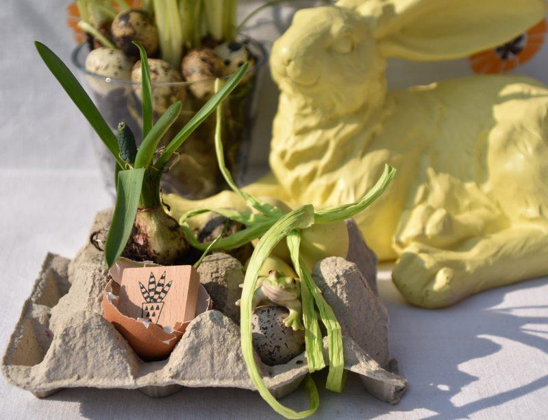 Ostern, Frühling, Eierkarton, DIY Geschenkverpackung, Kleinigkeiten verpacken