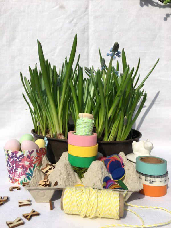 DIY, Eierpappe, kreative Kleinigkeiten, für Bastelmimis, Ostergeschenk, Frühling