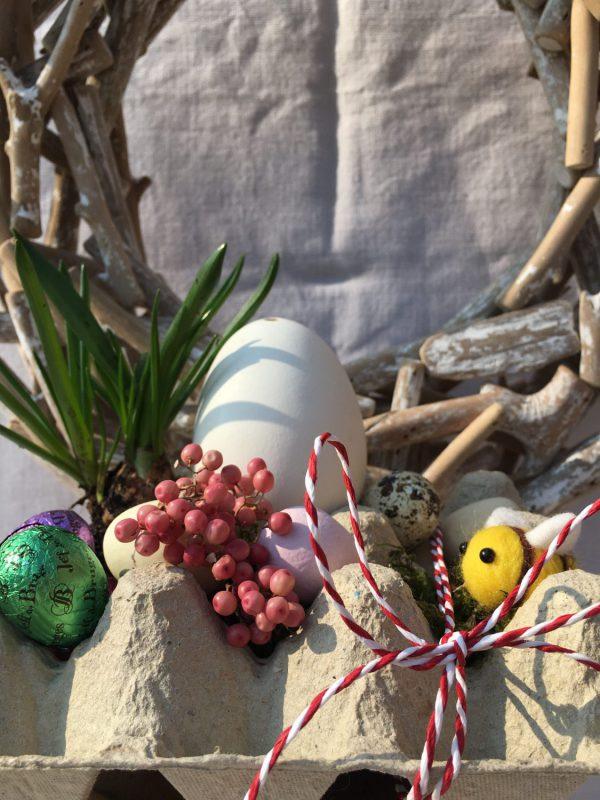 DIY, Eierpappe, Ostergeschenke, Ostern, Frühling, Kleine Ostergeschenke, Eier, Bienenblumensamen, Kleinigkeiten