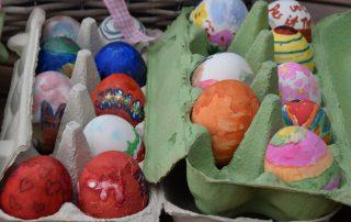Ostereier, Ostern, Frühling, frohe Ostern