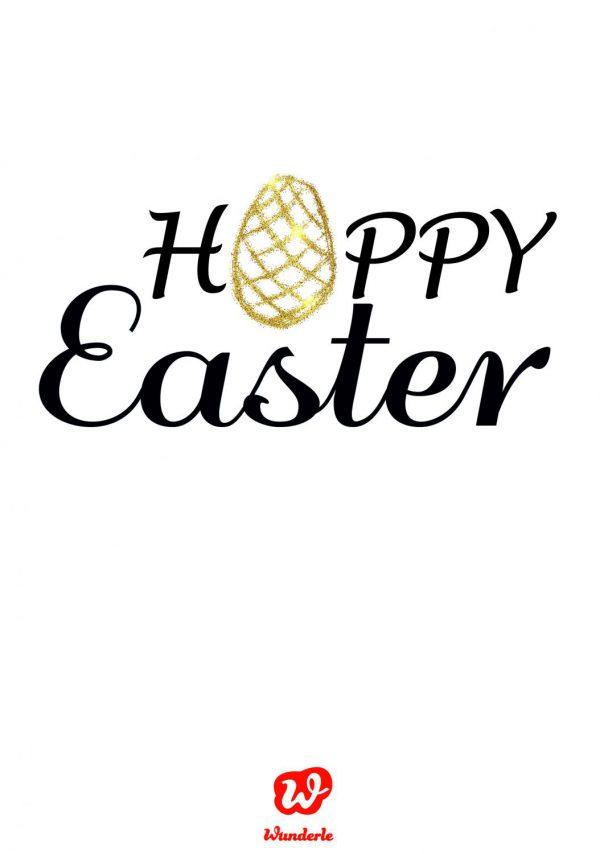 Hoppy Easter, Ostergrüße, Lettering