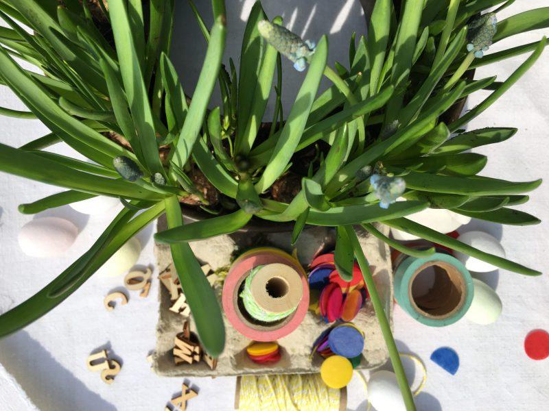 DIY, Eierpappe, kreative Kleinigkeiten, Ostergeschenke, Ostern, Frühling, Freude machen