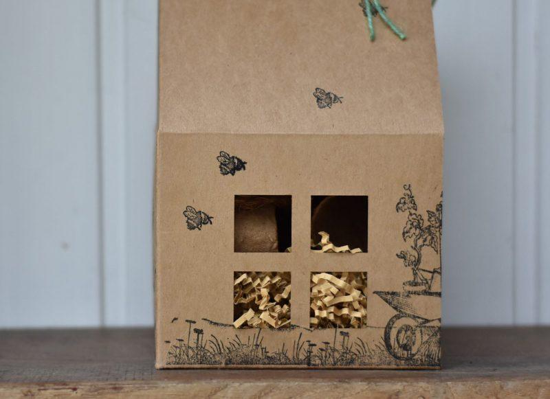 Gartenlust, GartenstarterSet, Wunderle, grüner Daumen, Haus, bestempelt, Geschenkideen, Kleinigkeit